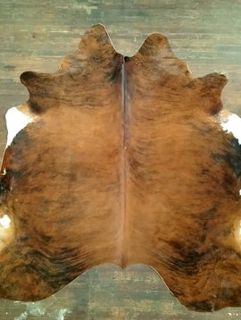 Red Brindle Cowhide 2597