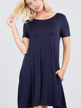 True Navy Pocket Dress