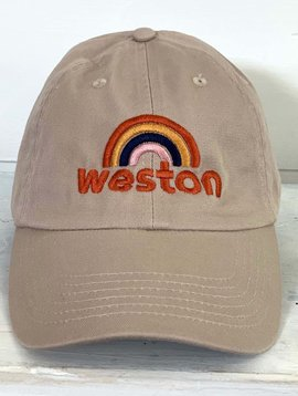 Weston Rainbow Embroidered Dad Hat