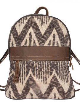 Brown Harmony Back Pack Bag