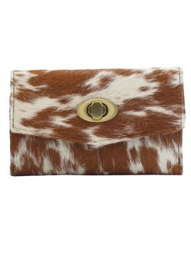 Kitty Party Cowhide Wallet