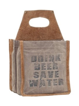 Drink Beer Save Water Six Pack  Caddy