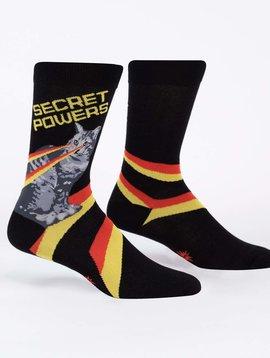 Secret Powers Crew Socks