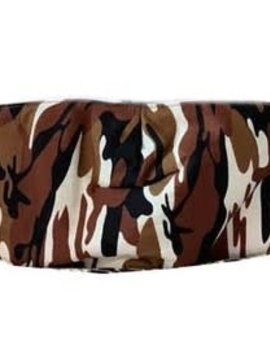 Brown Camo Face Mask