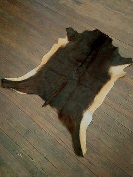 Dark Brown Goat Hide #266