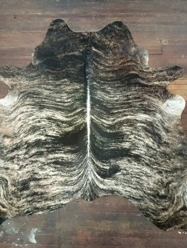 Blonde & Black Brindle Cowhide 2611