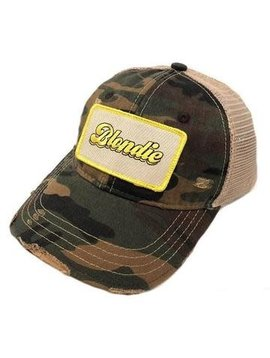 Blondie Camo Patch Cap