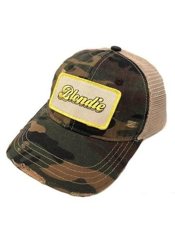 Blondie Camo Patch Cap