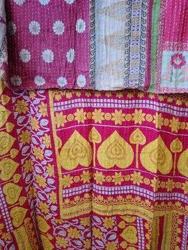 Kantha Sari Throw #400