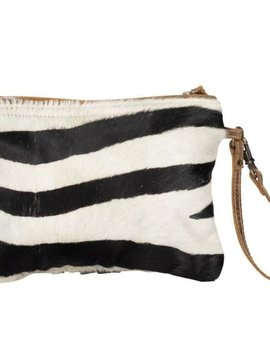 White Wilderness Zipper Pouch
