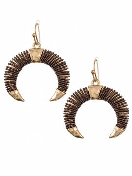 Cactus Creek Bull Horn Earring