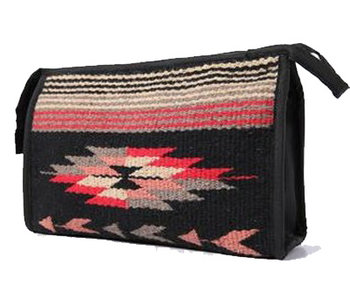 Black Southwest Bag with Zipper and Lining for Organizing