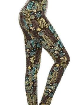 CURVY King Fisher Yoga Band Legging