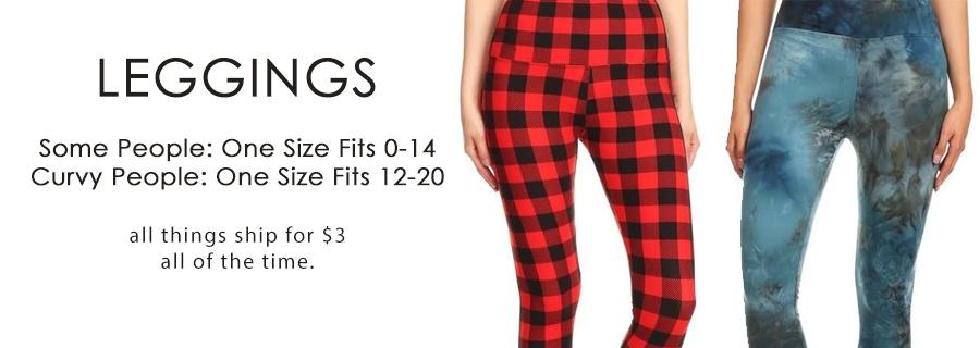 Soft, Stretchy, Affordable Leggings