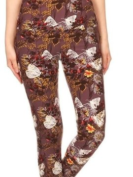 Butterfly Dream Yoga Band Legging