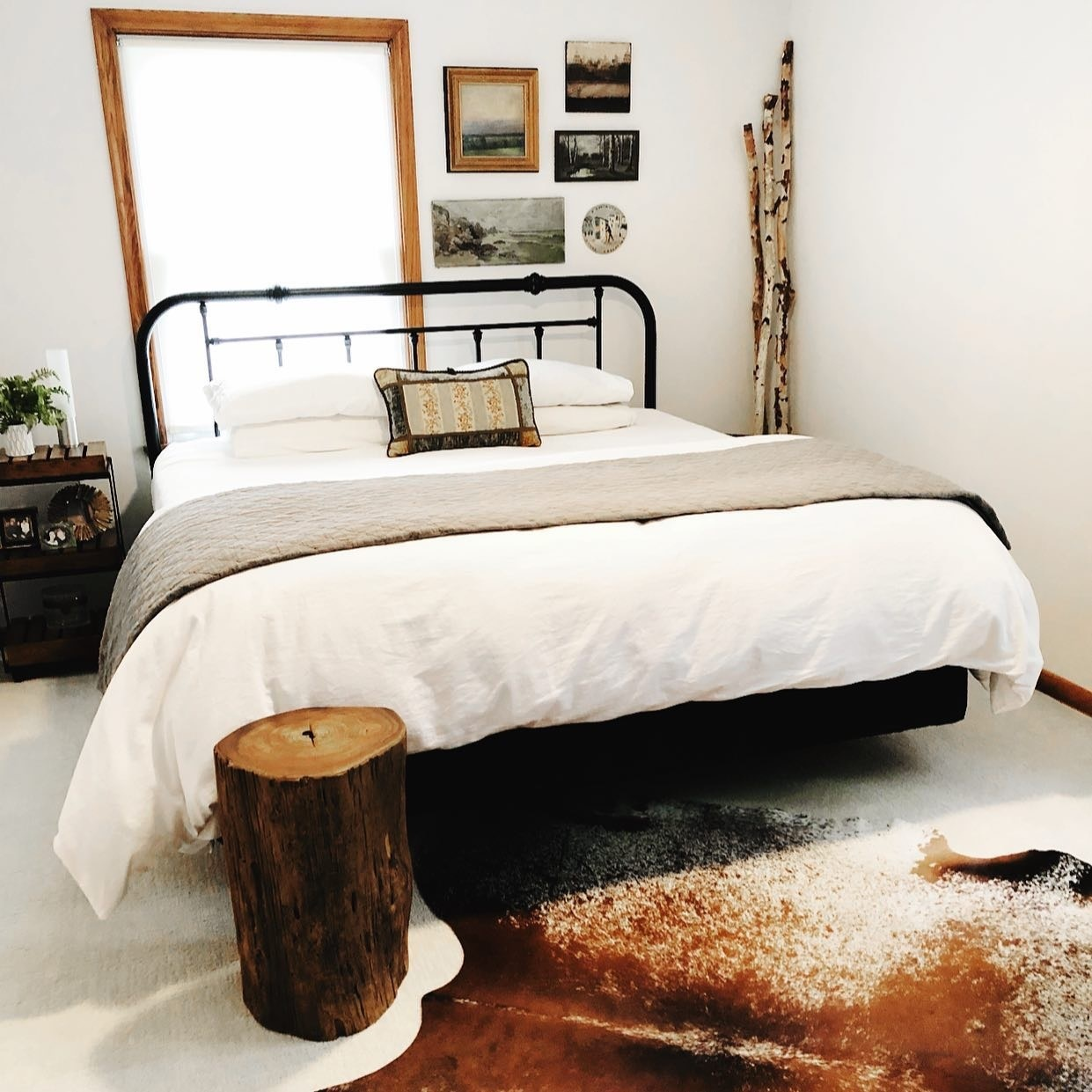 Will a cowhide rug work in my room?