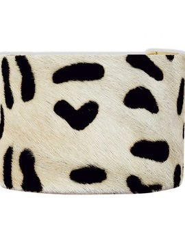 Playful Dalmation Cuff Bracelet