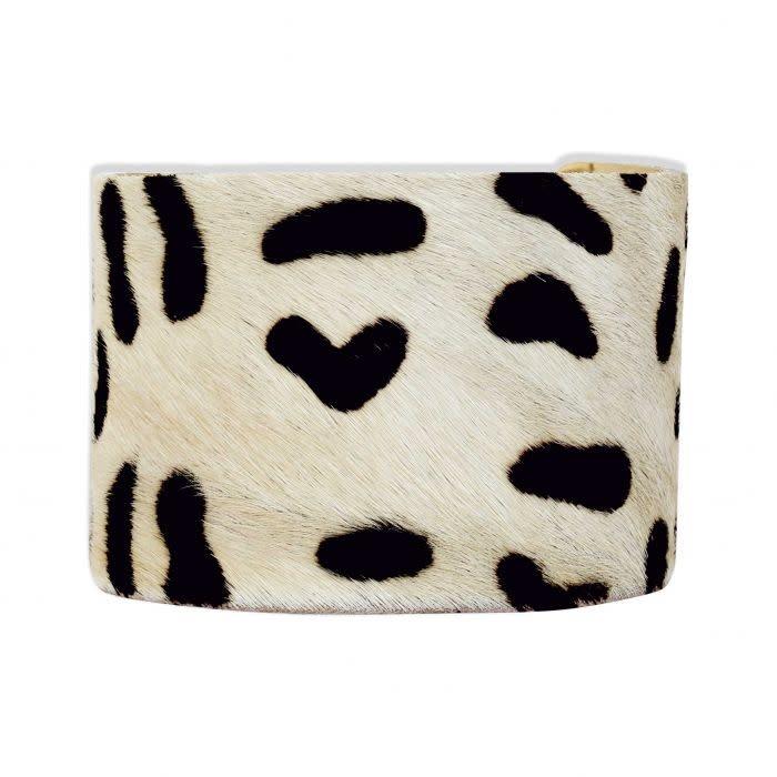Playful Dalmation Cuff Bracelet