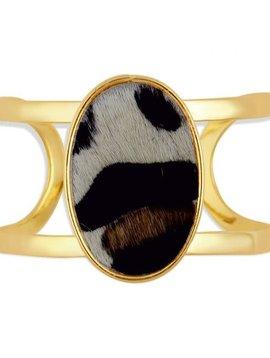 Serpentine Cuff Bracelet