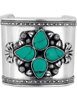 Petalled Silver Cuff Bracelet