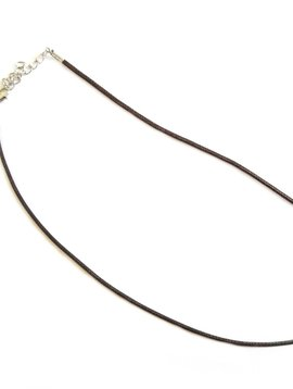 Cactus Creek Brown Cord Necklace