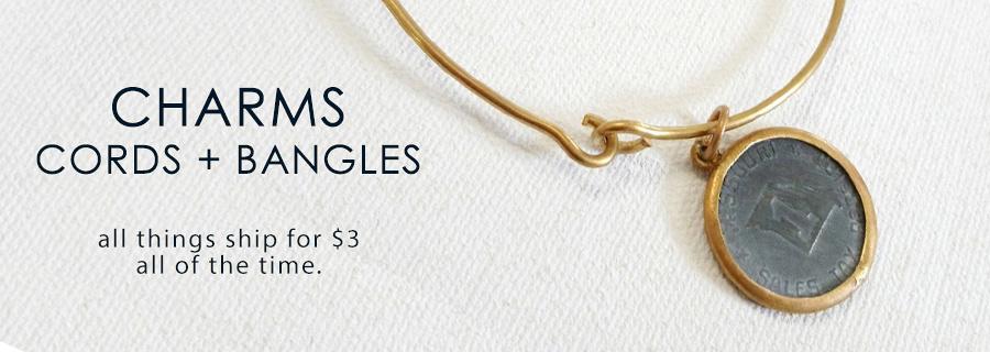 Charms / Cords / Bangle