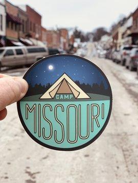 Camp Missouri Sticker