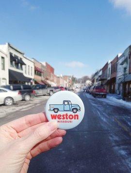 Vintage Truck Weston, MO Magnet