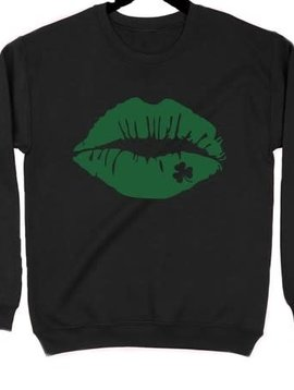 Shamrock Kiss Sweatshirt