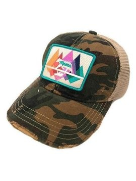 Mama Bear Camo Patch Cap