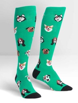 Dogs of Rock Knee High Socks