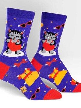 Dress Up Meow Women's Crew Socks