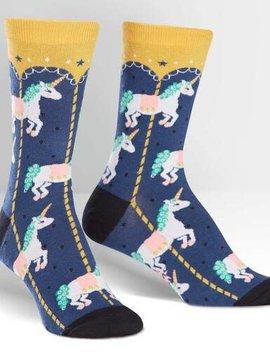 Carousel Women's Crew Socks