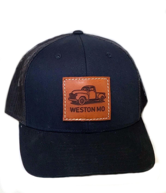 Weston MO Black Truck Hat