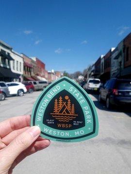 Weston Bend State Park Sticker