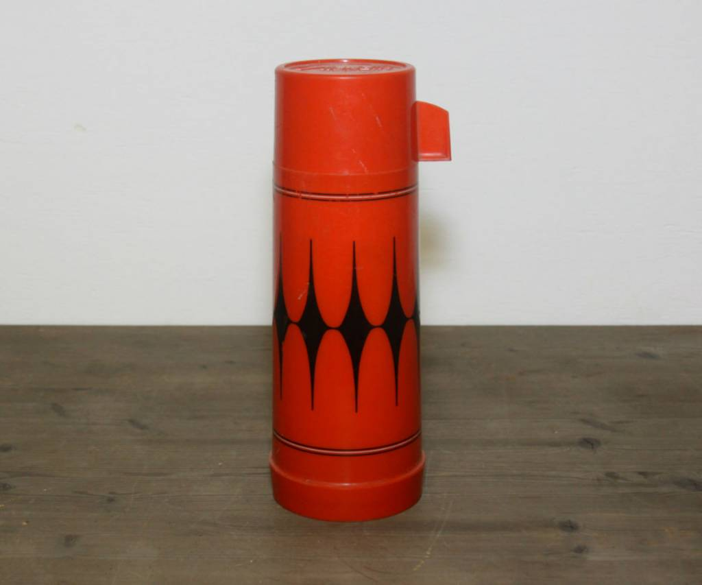 Aladdin Red and Black Thermos