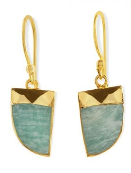 Turquoise Ray Drop Earring