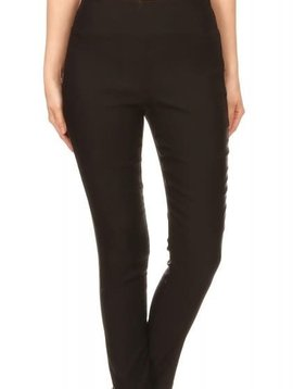 High Waist Black Skinny Stretch Pants