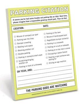 Parking Citation Nifty Notes