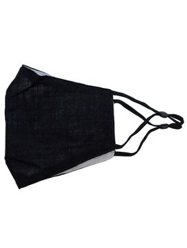 Black Bamboo Cotton Mask