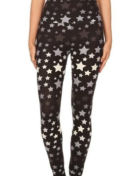 Star Gazer Yoga Band Legging