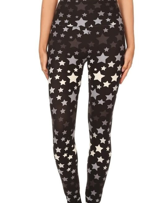 Star Gazer Yoga Band Legging