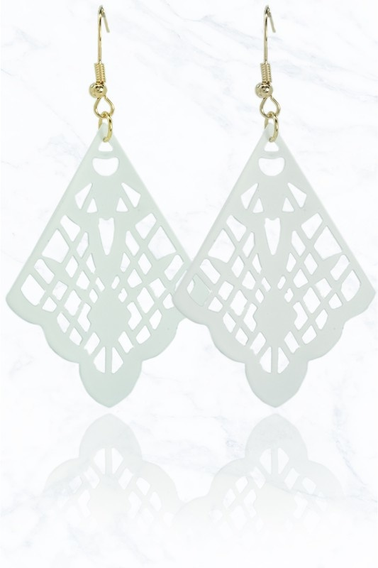 Butterfly Wing Drop Earring