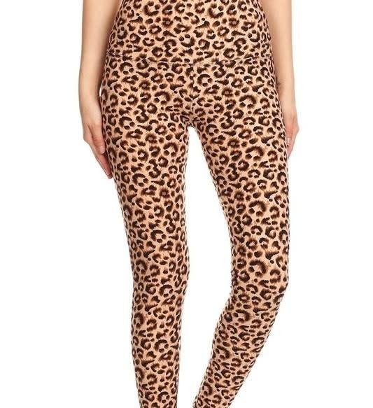 Leopard Print Yoga Legging