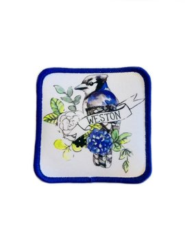 Weston Blue Jay Patch
