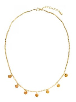 Charmed Gold Necklace