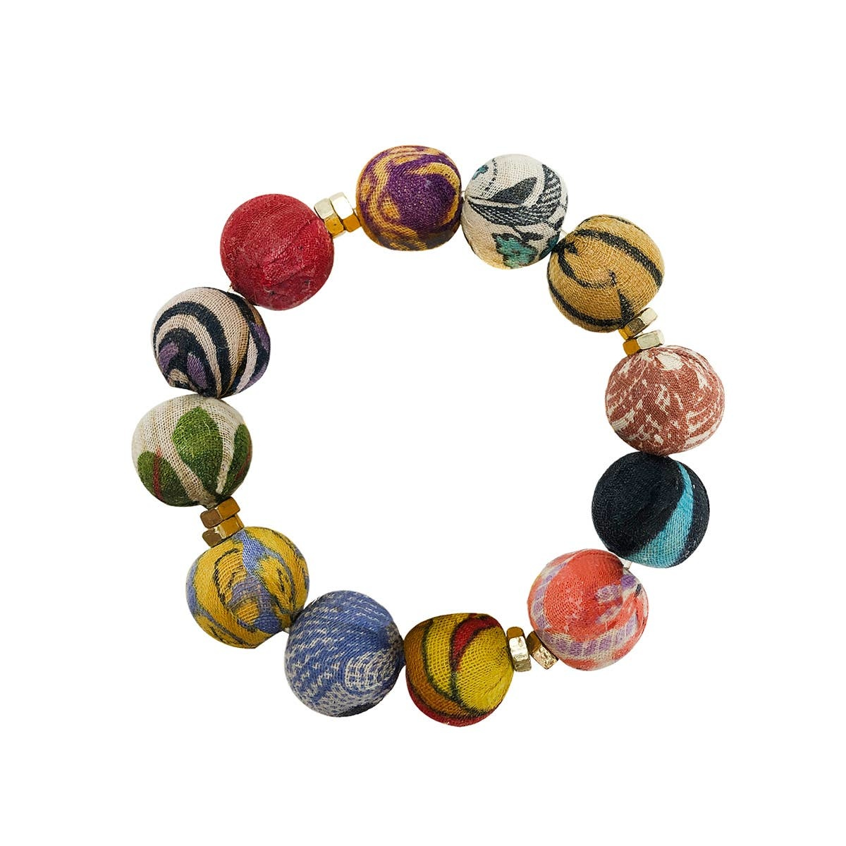 Kantha Trio Bracelet
