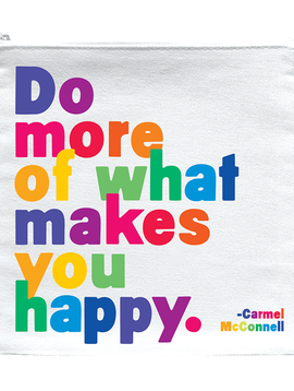 Do More of What Makes you Happy Zipper Pouch