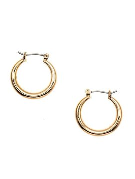 Gold Mini Hoop Earring