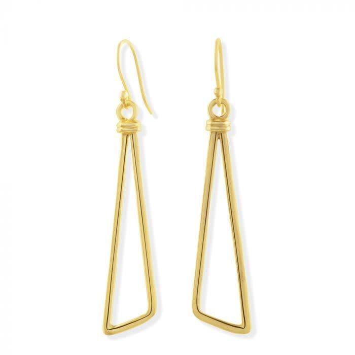 Golden Affair Drop Earrings